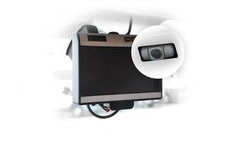 Couvací kamera s LCD